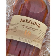 Aberlour Single Malt Scotch 18 yr.
