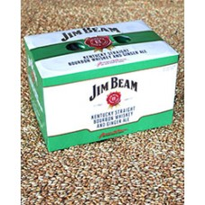 Jim Beam Kentucky Straight bourbon Whiskey and Ginger Ale